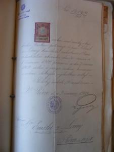 Emila Pavel z Lány advokát království českého