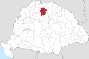 Gömörská župa, území pod vlivem Pavola Lányiho