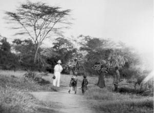 Ludvík Lány a ženy kmene Masaj