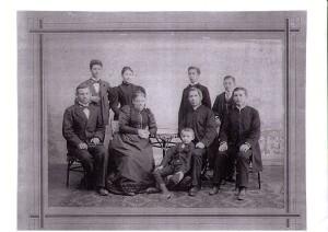 Rodina Karla Eduarda z Lány kol. 1897