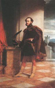 Széchenyi István, AMERLING Friedrich von