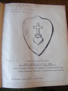 erb Jacoby-Lány genealogie Theodor Lányi (Národní muzeum v Praze fond Lány - Rodinný archiv)