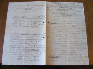 genealogický vývod ratibořské větve rodu od Samuela I. Lányi (Národní muzeum v Praze, fond Lány - Rodinný archiv)