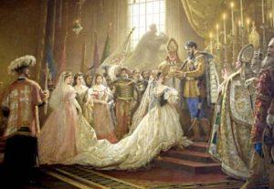 korunovace Sissi na uherskou královnu
