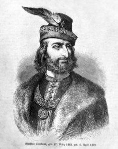 uherský a český král Matyáš Korvín