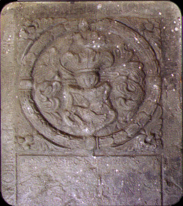náhrobek - erb Lány, Kežmarok